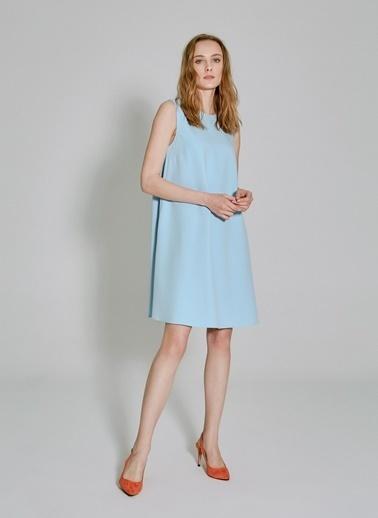 People By Fabrika Kolsuz Elbise Mavi